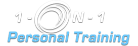 1-On-1 Personal Training Logo